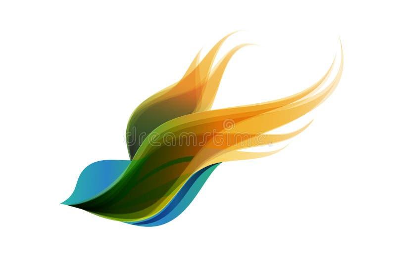 Oiseau de Phoenix illustration stock