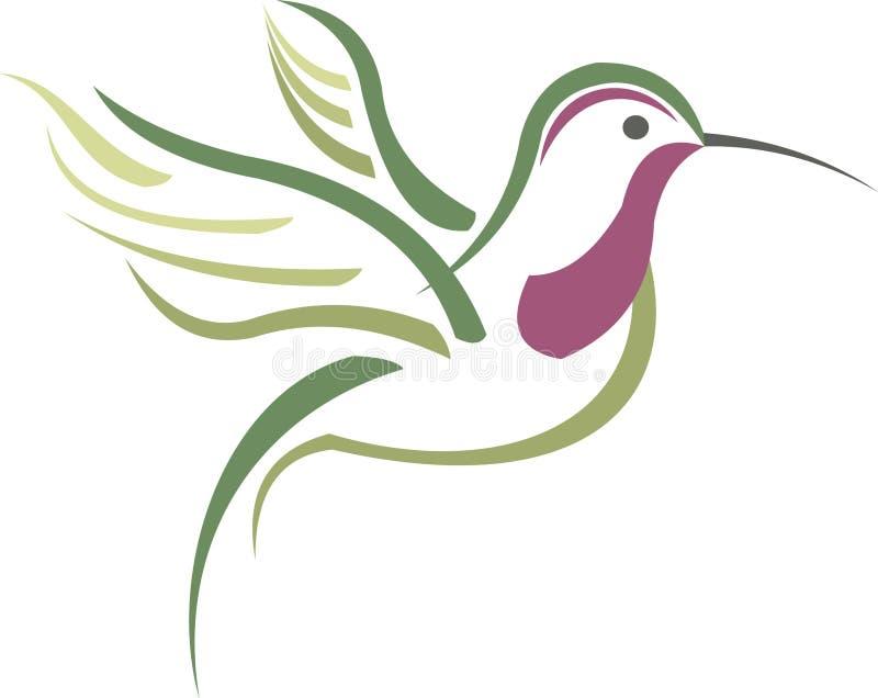 Oiseau de ronflement illustration stock