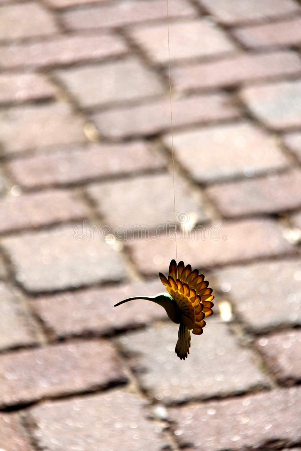 Oiseau en bois image libre de droits
