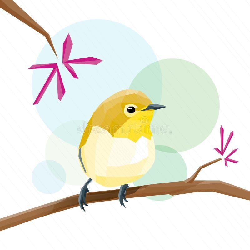 Oiseau jaune photos stock