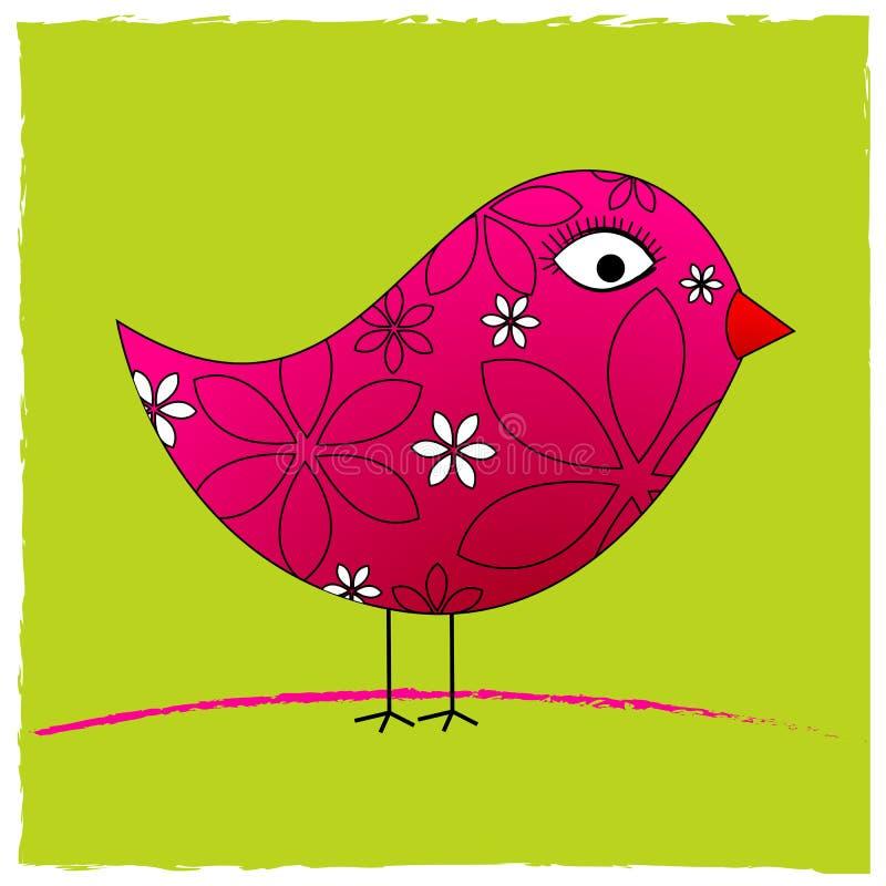 Oiseau mignon de source illustration libre de droits