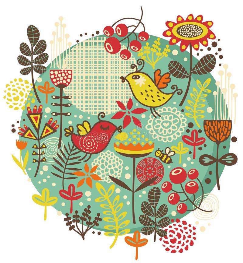 Oiseaux, Fleurs Et Toute Autre Nature. Photographie stock
