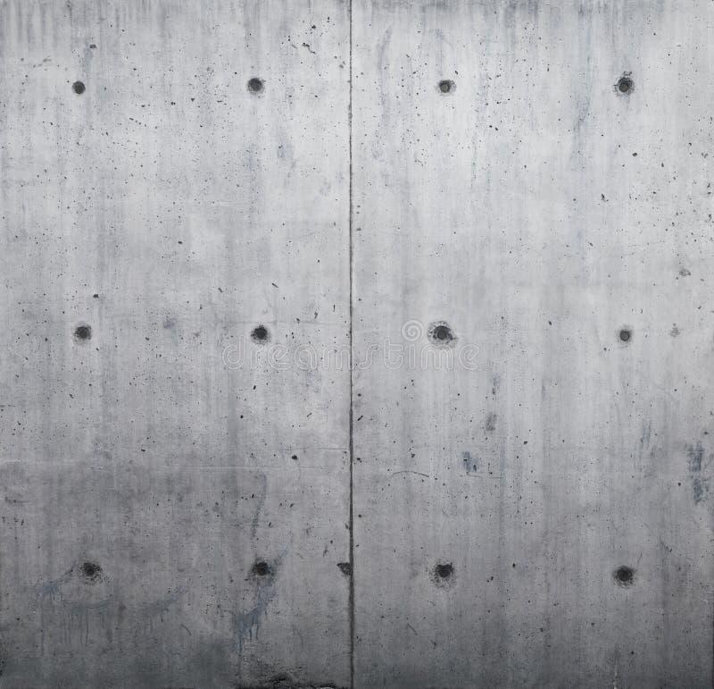 Oisolerad betongvägg royaltyfri bild