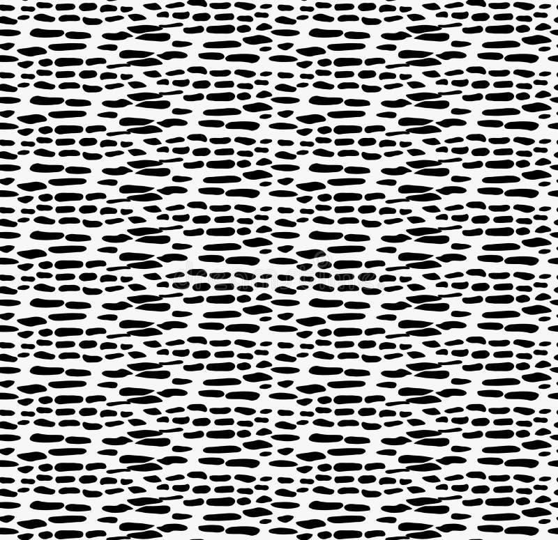 Ojämna fläckar för svart markör stock illustrationer
