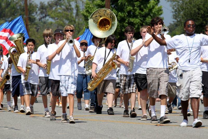 Ojai 4ème du défilé 2010 de juillet images stock