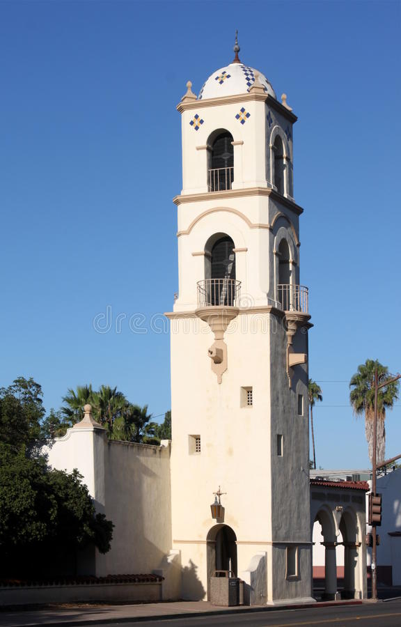 Ojai Post Office Tower royalty free stock photography