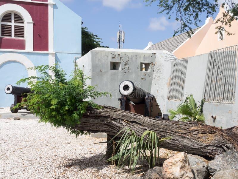 Ojanjestad Aruba una isla caribeña en las Antillas holandesas fotografía de archivo libre de regalías