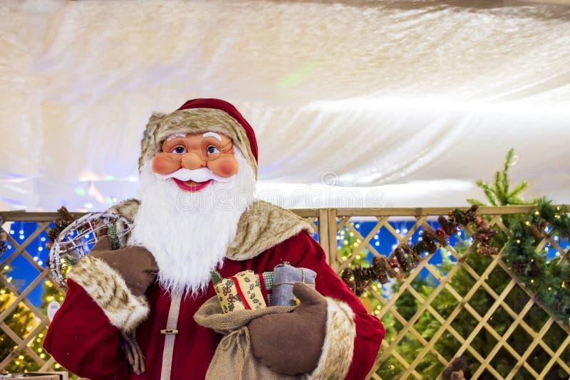 Ojców boże narodzenia Święty Mikołaj fotografia stock