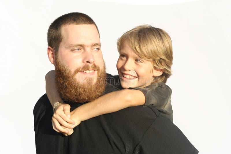 ojca i syna obrazy stock