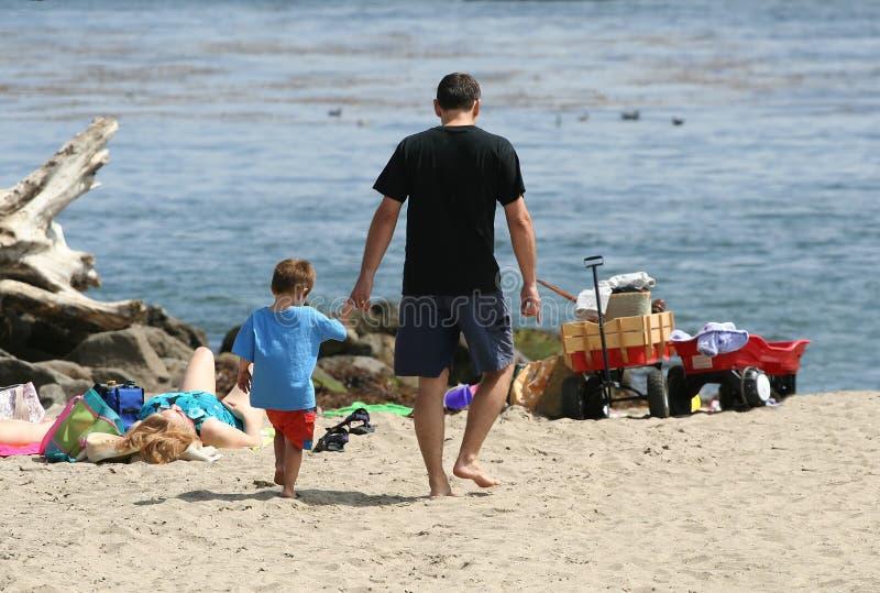ojca i syna zdjęcie royalty free