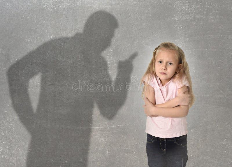 Ojca lub nauczyciela cień krzyczy obrazy royalty free