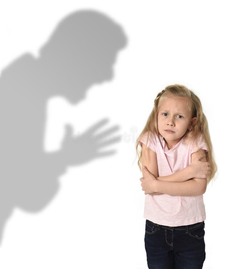 Ojca lub nauczyciela cień krzyczy obraz stock