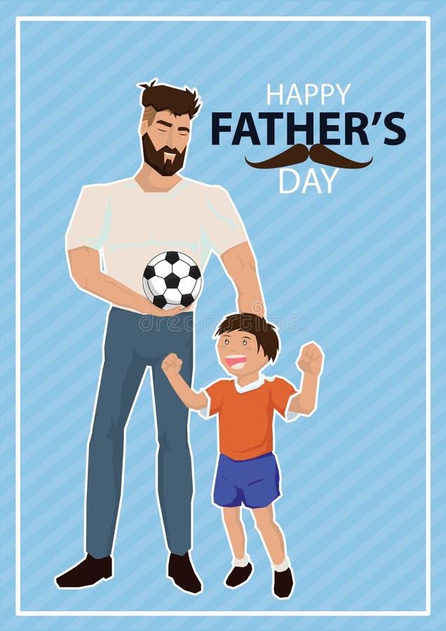 Ojca ` s dnia ilustracja ilustracji
