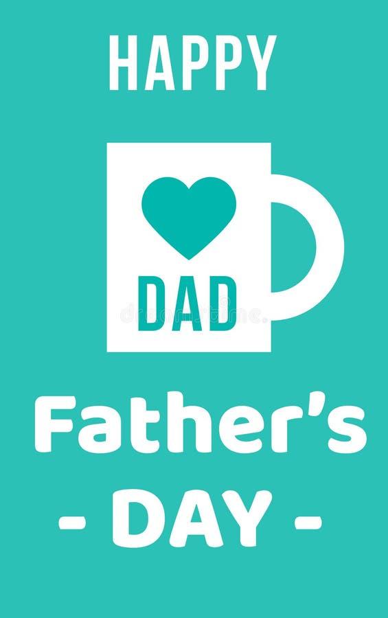 Ojca s dnia zadziwiające wektorowe ilustracje dzień ojciec szczęśliwy s niebieska tła niebieskie oczy, piaskowe zdjęcie stock