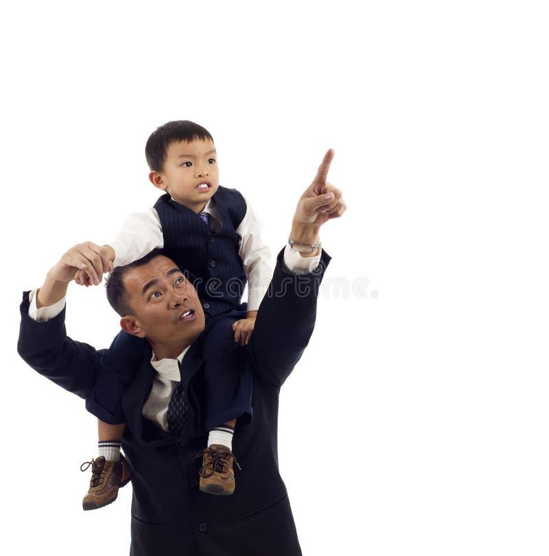 ojca syn zdjęcie royalty free
