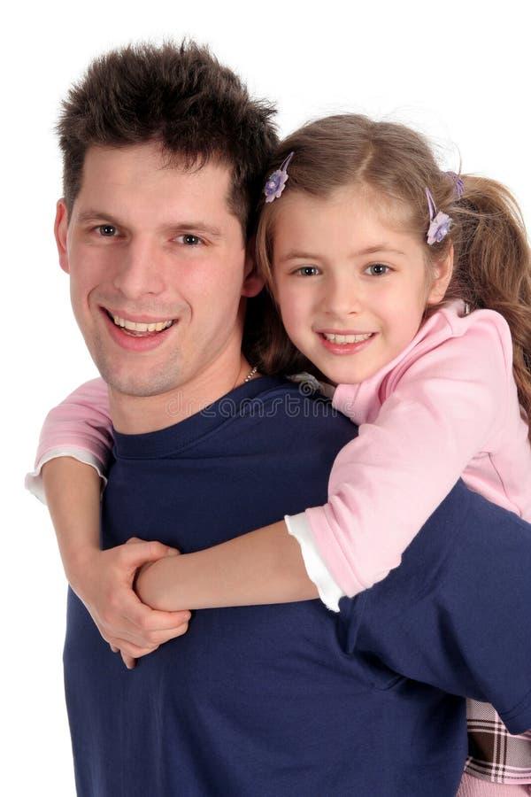 ojciec córkę zdjęcia royalty free