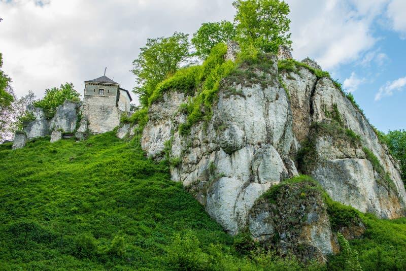 Ojcow Castle στην Πολωνία στοκ εικόνες με δικαίωμα ελεύθερης χρήσης