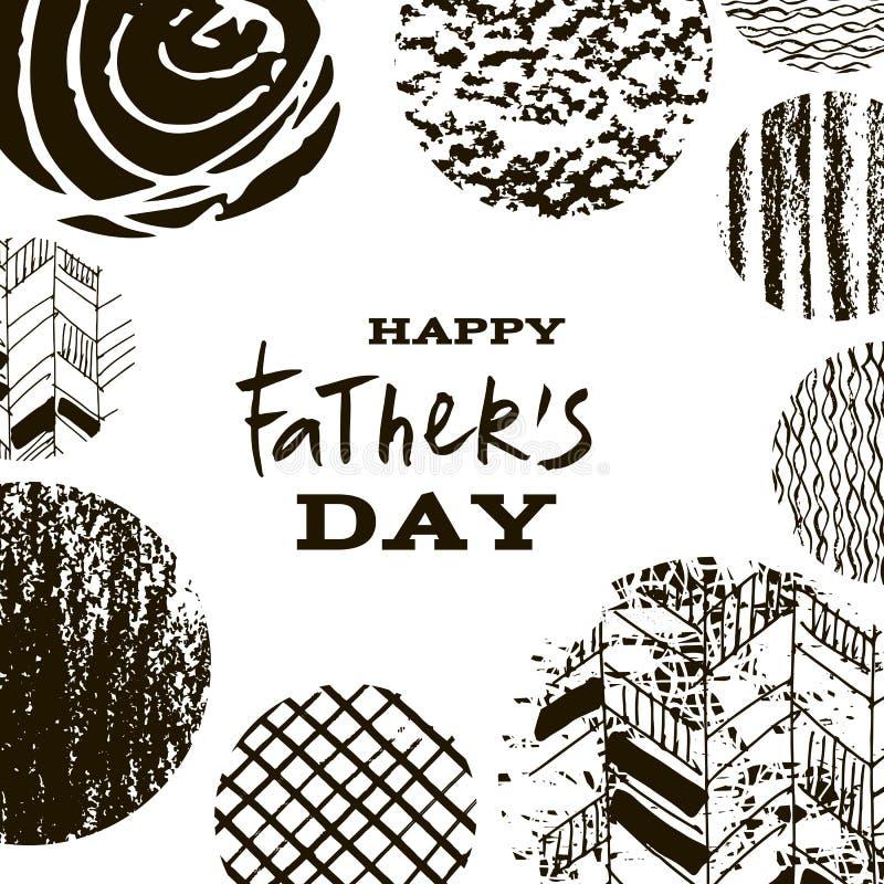 Ojcowie Day3 ilustracja wektor