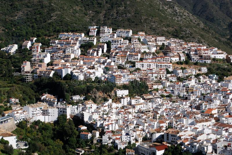 Ojen, Andalusia, Spain. Stock Photography