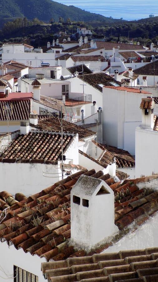 Ojen-MÃ ¡ laga安大路西亚西班牙欧洲美丽的景色  图库摄影