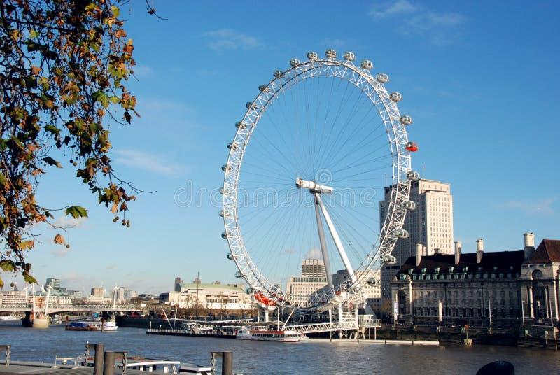 Ojo 1 de Londres foto de archivo