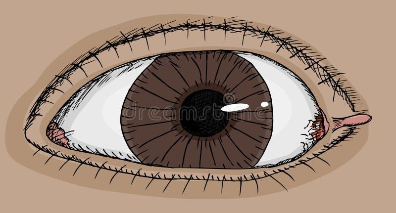 Ojo con la etiqueta libre illustration