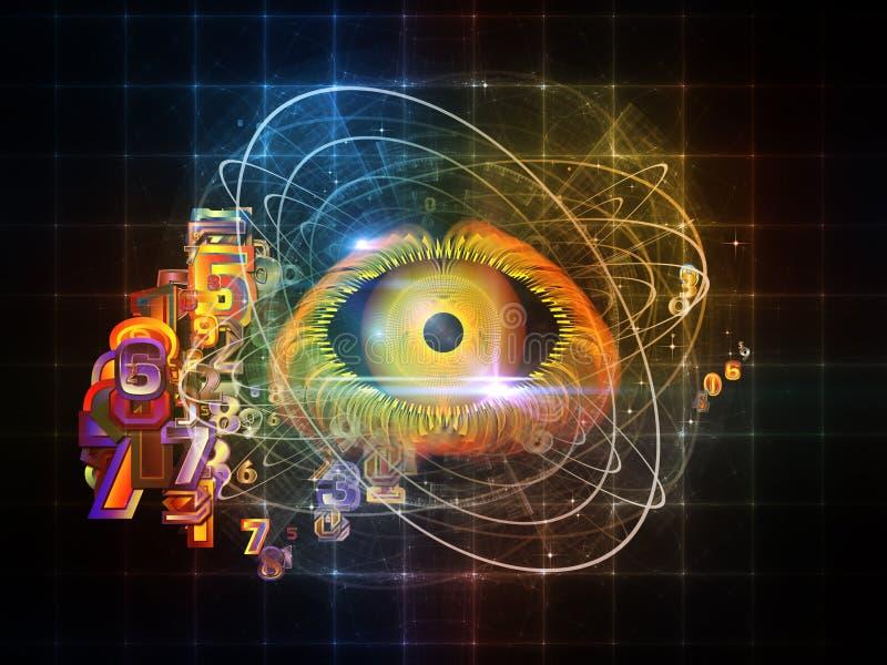 Ojo de Digitaces ilustración del vector