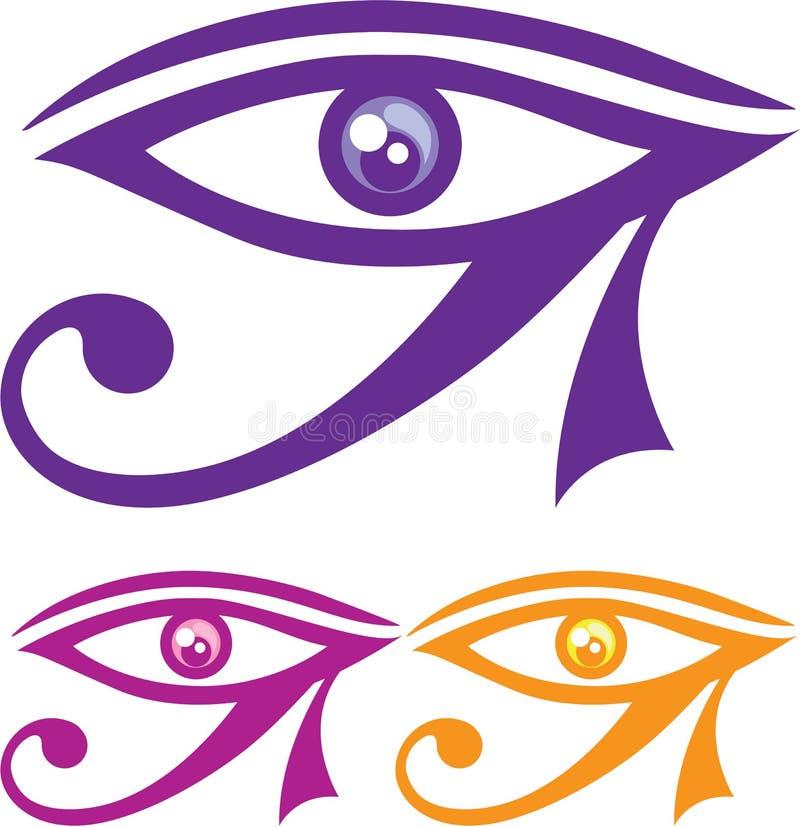 Ojo de Horus ilustración del vector