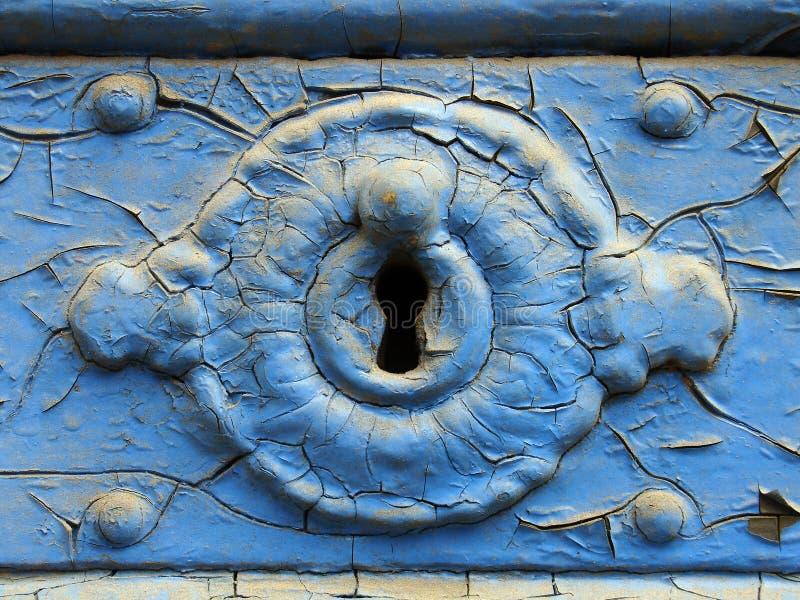 Ojo de la cerradura - primer imágenes de archivo libres de regalías