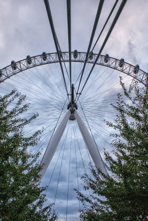 Ojo de Londres en Londres fotografía de archivo