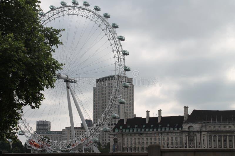 Ojo de Londres en Londres imagenes de archivo