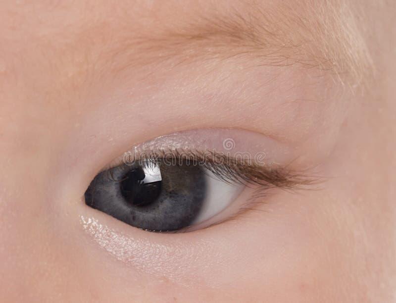 Ojo de los bebés fotos de archivo
