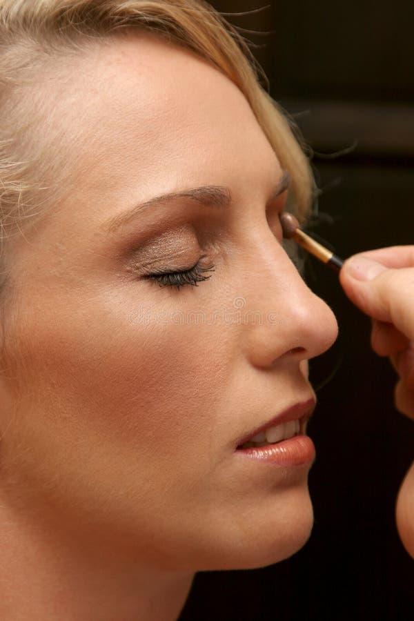 Ojo del maquillaje fotos de archivo
