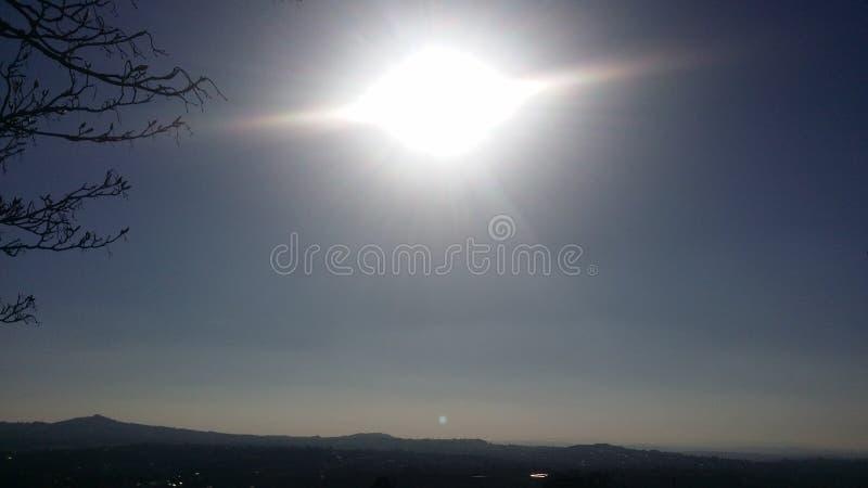 Ojo en el cielo foto de archivo