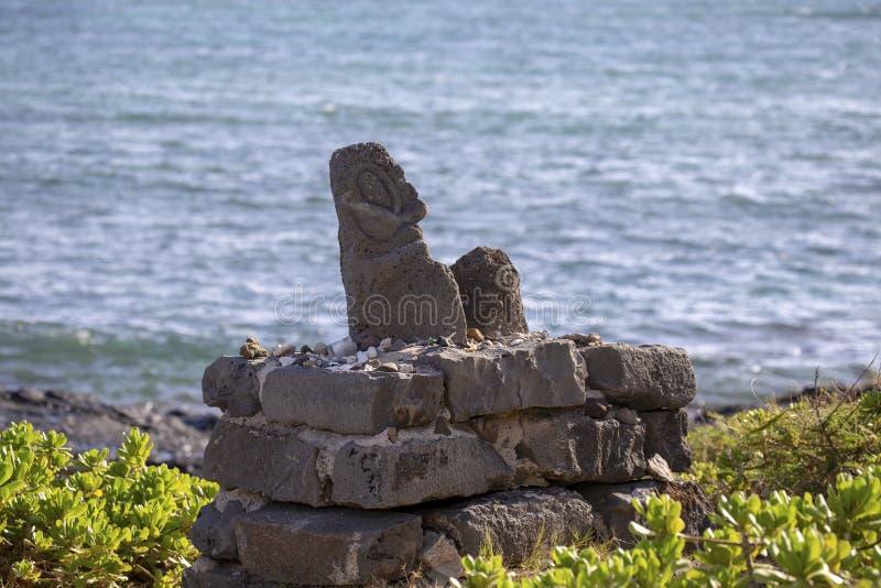 Ojo en Kailua imagenes de archivo