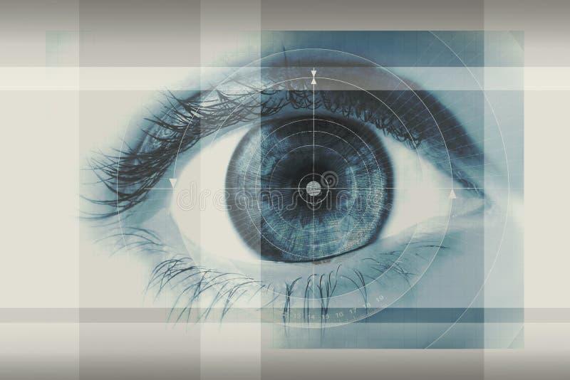 Ojo humano ilustración del vector