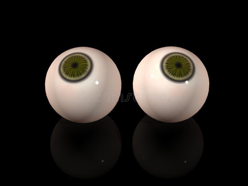 Ojos ilustración del vector