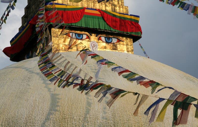 Download Ojos de Buddha foto de archivo. Imagen de indicador, lugares - 7151744