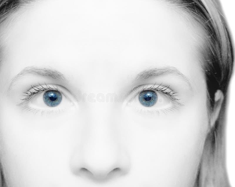 Ojos de la mujer imagen de archivo