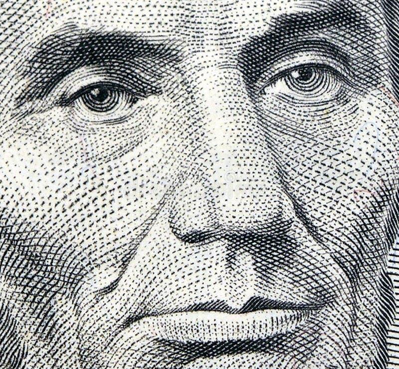 Ojos De Lincoln Imagen de archivo libre de regalías