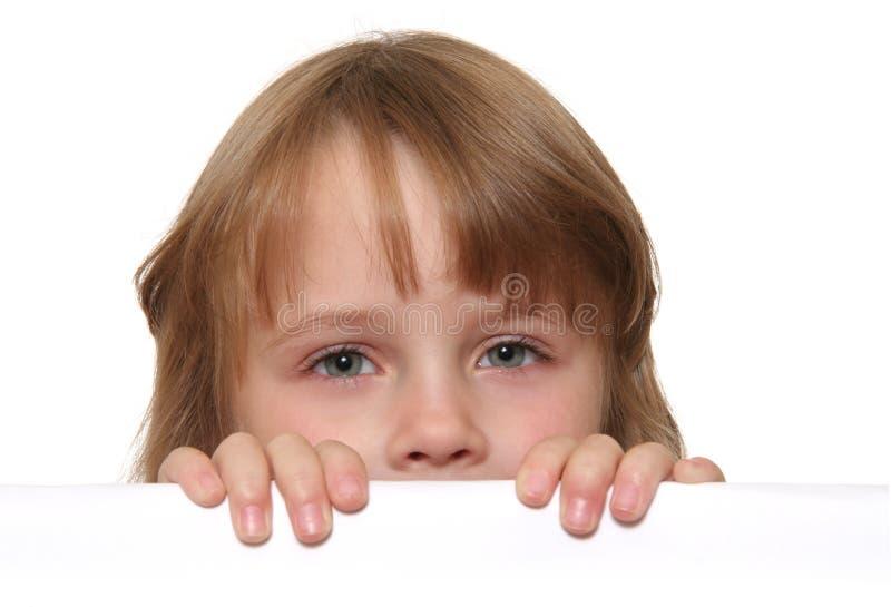 Ojos del niño fotografía de archivo