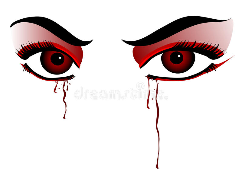 Ojos del vampiro libre illustration