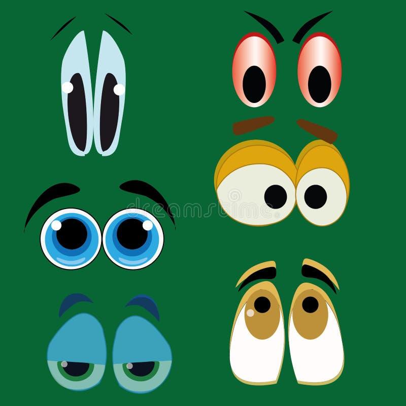 Ojos grandes libre illustration