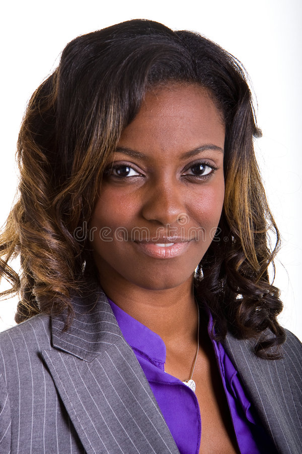 Ojos hermosos jovenes de la mujer negra fotos de archivo