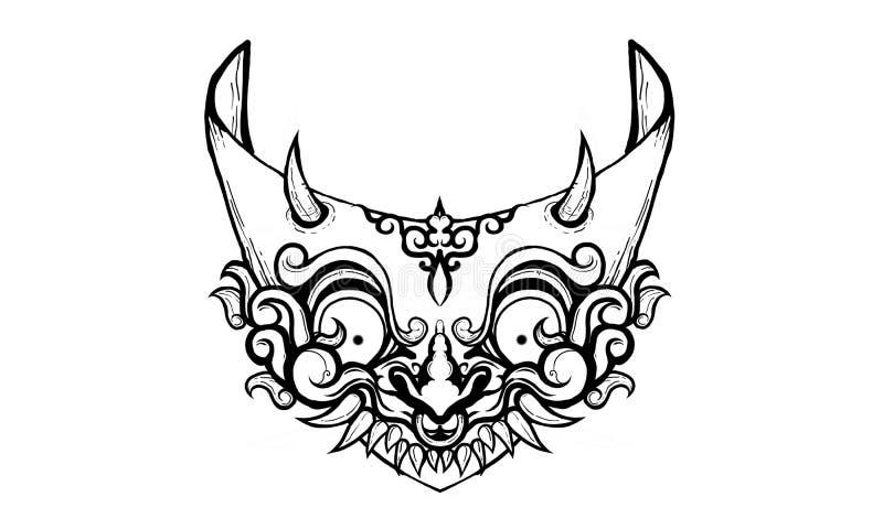 Ojos ornamentales stock de ilustración