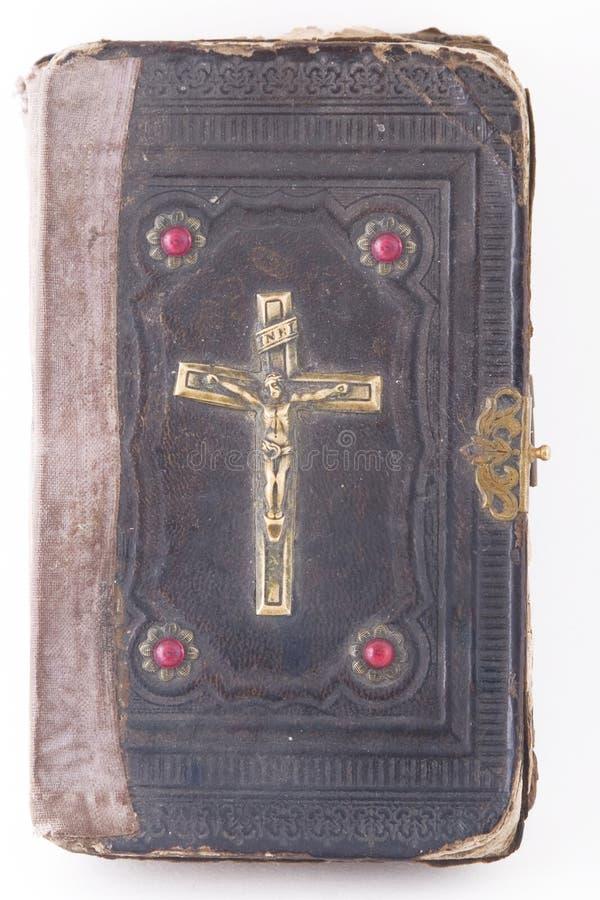 okładkowego krucyfiksu święty święte pisma fotografia royalty free
