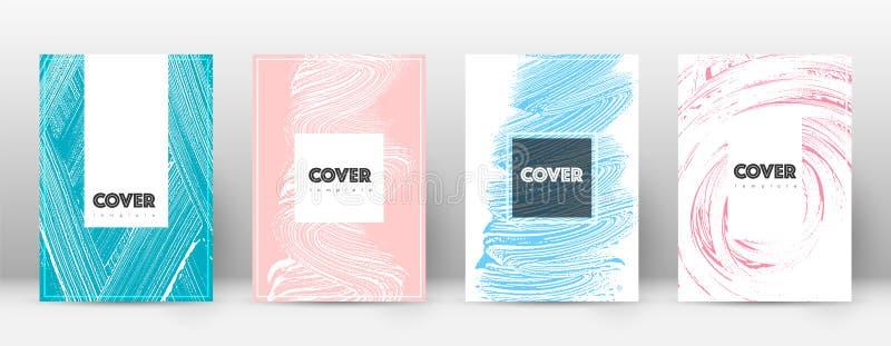 Okładkowej strony projekta szablon Modniś broszurki layou ilustracji