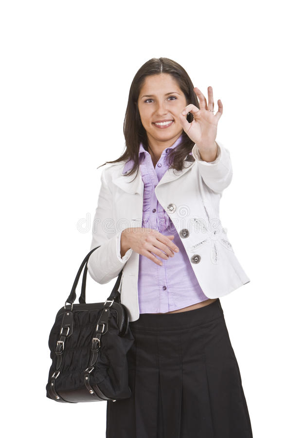 Download OK stock image. Image of success, person, girl, approve - 11764779