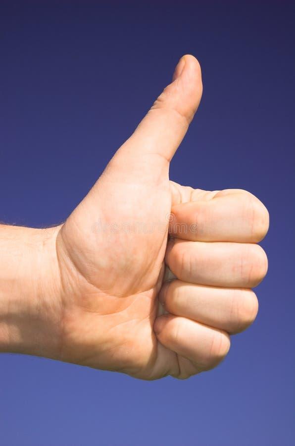 OK!. OK hand sign stock photography