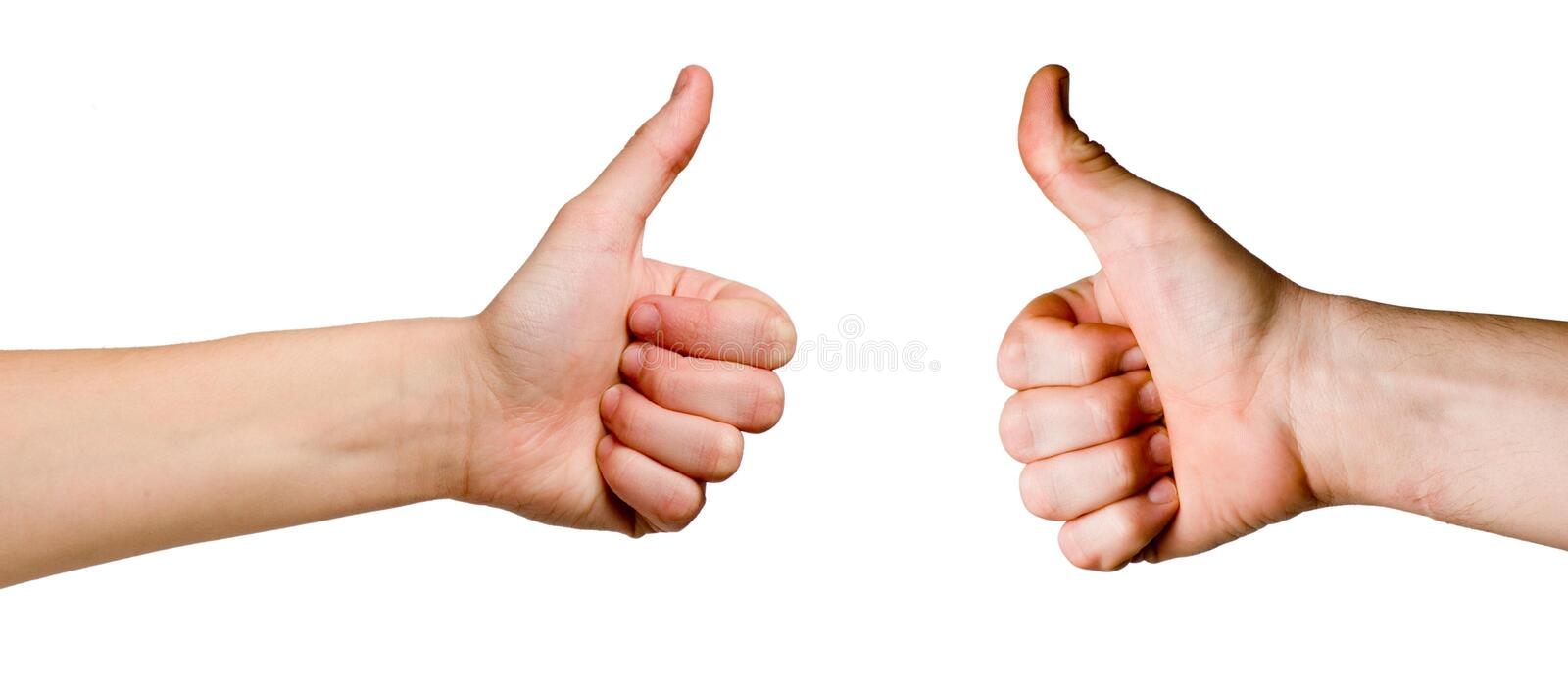 OK gestures royalty free stock images